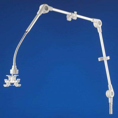 Porta tubi per dispositivi di respirazione e anestesia